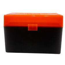 Berry'S Plastic Ammo Boxes (4) Orange/Black 50 Round 270 / 30-06 - Free Shipping