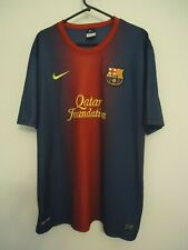 BARCELONA  OFFICIAL HOME FOOTBALL SHIRT BY NIKE SEASONS 2012/2013