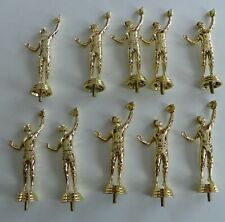 10 Gold Boys Baseball Trophy Toppers New Old Stock