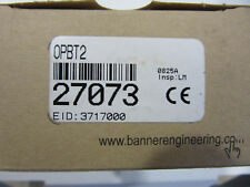 Banner 27073 Omni-Beam DC Power Block OPBT2 NEW!!! in Factory Box Free Shipping
