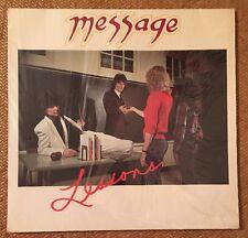 "Richie Sambora & Dean Fasano Message""Lessons"" LP NM/1981 Original Shrink"