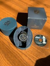 Citizen Blue Angles Eco-Drive 43mm Stainless Steel Men's Wristwatch - Silver