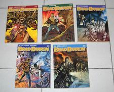 5 Fumetti BRAD BARROW Tito Faraci Bonelli blocco lotto stock 2 3 8 11 14