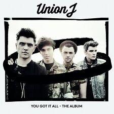 UNION J YOU GOT IT ALL CD NEW