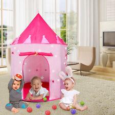 Toddler Play Tent Castle Girls Pop Up Playhouse Children Kids Outdoor Indoor NEW