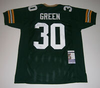 PACKERS Ahman Green signed custom green jersey w/ #30 JSA COA AUTO Autographed