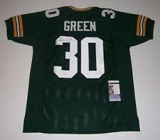 PACKERS Ahman Green signed custom green jersey w/ #30 JSA COA AUTO Autographed
