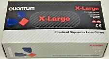 PACK OF 100 VW QUANTUM LATEX GLOVES -EXTRA LARGE