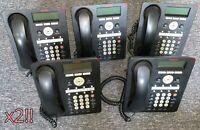 Set of 10 Avaya 1608-I IP Deskphones