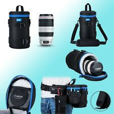 113x240mm Lens Pouch Water Resistant Padding Canon 70-200mm 180mm JJC DLP-6II