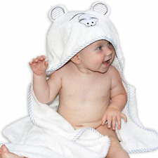 Organic Bamboo Hooded Baby Towel by Liname - Ultra Soft, Thick & Extra Absorbent