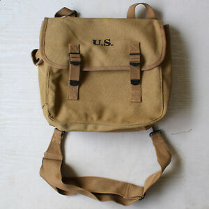 WW2 US MILITARY M36 MUSETTE WWII CANVAS BAG BACK HAVERSACK