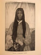 19th Annual Report Of The Bureau Of American Ethnology By J.W. Powell  Vol 1.