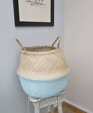 Unbranded Seagrass Home Storage Baskets with Handles