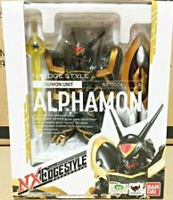 Digimon Adventure Bandai Nx nxedge estilo Alphamon Figura De Acción
