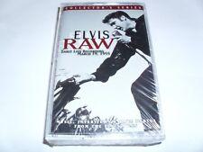 ELVIS PRESLEY (Elvis Raw) cassette tape Early Live Recordings  NEW SEALED