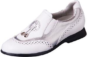 Sandbaggers Golf Shoes: Madison II Silver
