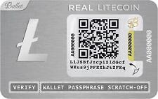 Ballet Crypto Physical Litecoin Wallet