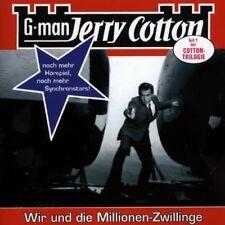 G-Man Jerry Cotton (14) Wir und die Millionen-Zwillinge  [CD]