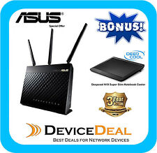 ASUS DSL-AC68U Wireless AC1900 Gigabit ADSL2 Modem Router free Notebook Cooler