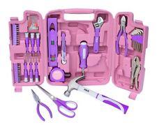 75 Teilig Werkzeugset Werkzeugkasten Werkzeugkoffer Werkzeugkiste Werkzeug Pink