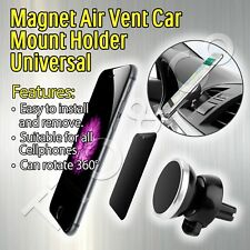 Magnet Air Vent Car Mount Holder Mobile iPhone X 10 8 7s 7 6 Plus Samsung S7 S8