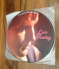 ELVIS PRESLEY - It' s now or never - Rare Picture Disc