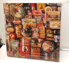 Vintage Hallmark Springbok Puzzle SWEET MEMORIES Antique metal Candy