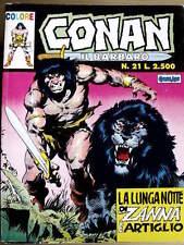 Conan il Barbaro COLORE n°21 ed. Marvel Comic ART  [G.187]