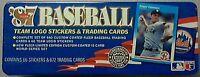 1987 Fleer Baseball Factory Sealed Tin (GLOSSY) Set B Bonds, B Larkin  Look!!!