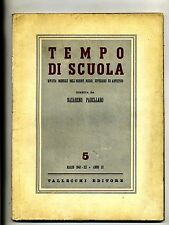 TEMPO DI SCUOLA#Mensile Ord. Medio/Superiore/Artistico-An.III-N.5#Marzo 1942