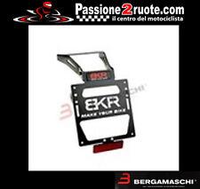Portatarga moto Bkr suzuki gsr 750 2011 porta targa license plate regolabile
