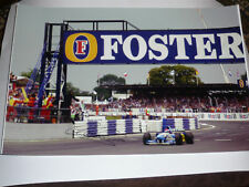 Signed Johnny Herbert A3 Size  Photo