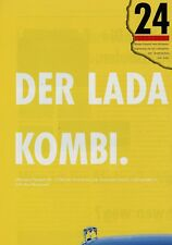 Lada 2104 Kombi Prospekt 1988 Autoprospekt brochure broschyr prospectus opuscolo