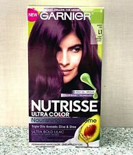 Garnier Nutrisse Nourishing Permanent Hair Color L1 Deep Intense Lilac Sweet Fig