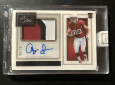 2019 Panini One Premium Andy Isabella Game Worn Jersey Patch Auto RPA /99