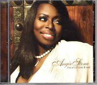Angie Stone Art Of Love & War 2007 OG CD 1st Press Album Hiphop R&B Jazz Soul