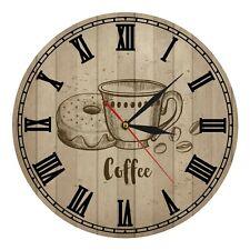 Coffee drink Creative Wall Clock Home Office Silent Modern Art Wall Clock