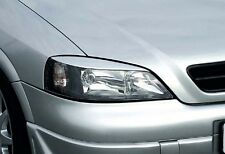 HEADLIGHT BROWS EYELIDS EYEBROWS FOR THE VAUXHALL ASTRA G 1998-2004 NICE GIFT