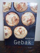 BAKPLAAT - GEBAK - 127 pages - TTB - Rebo Culinair - 127 pages - 6 Photos