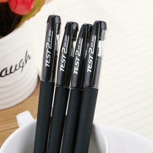 Black Gel Pen Full Matte Water Pen Writing Stationery Supply Office V8R9