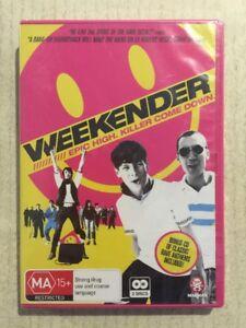 WEEKENDER (DVD R4 2011) NEW 2-DISCS Jack O'Connell Lloyd-Hughes DRAMA MUSIC