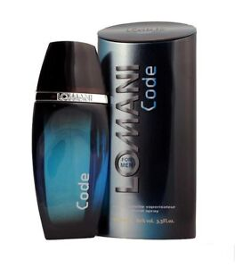 LOMANI CODE EAU DE TOILETTE FOR MEN LIMITED EDITION PRODUCT BEST GIFT - 100 ML
