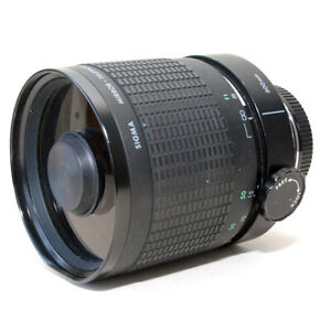 Sigma 600mm f/8 Mirror Telephoto Lens - CANON-EF Mount