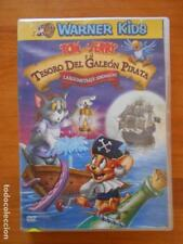 DVD TOM Y JERRY Y EL TESORO DEL GALEON PIRATA - LEER DESCRIPCION (9K)