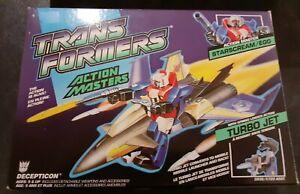 Transformers G1 Action Master Starscream COMPLETE MIB STUNNING Decepticon