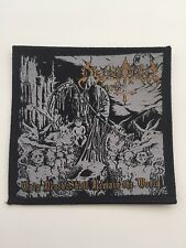 Dethrone Christ - Only Death Shall Remain The World Aufnäher/Patch (Black Metal)