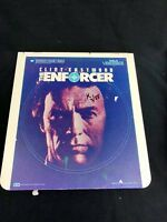 CLINT EASTWOOD THE ENFORCER  CED Capacitance Electronic Movie Disc