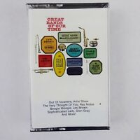 Great Bands of Our Times Various Artists Cassette 1986 RCA Records New Sealed