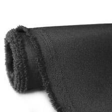 1-30 Yards Waterproof Heavy Duty Black Canvas Fabric 600 Denier 58